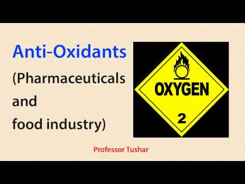 Antioxidants for pharmaceuticals and food industry