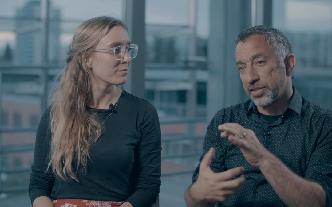Stories in Sound: mentor Joe Richman and mentee Caty Enders