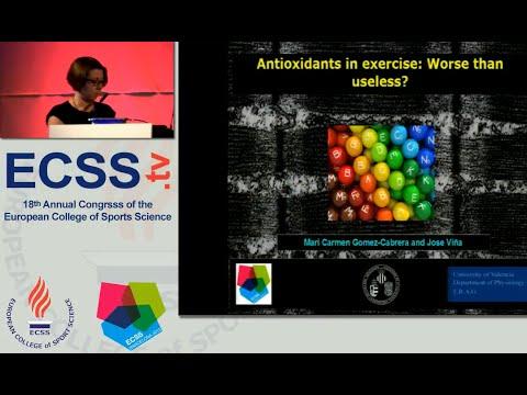 Antioxidants in exercise: Worse than useless? – Prof. Gomez-Cabrera