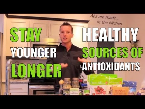 Healthy Foods With Antioxidants – Foods That Keep You Young