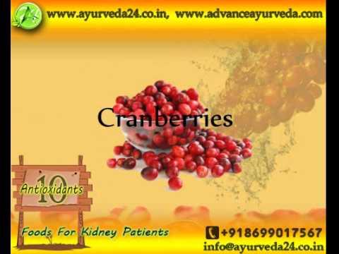 Ten antioxidants for kidney patients