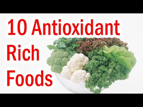 Top 10 Antioxidant Rich Fruits and Vegetables