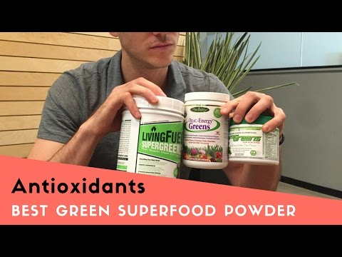 Best Green Powder Supplements for Antioxidants