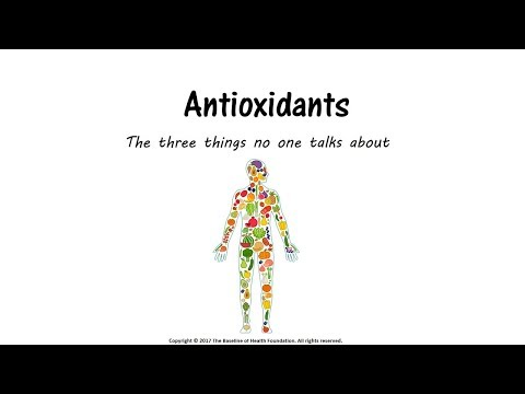 Antioxidants: When and When NOT to Use Them