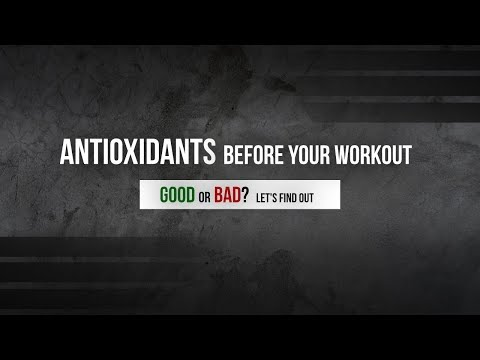 Antioxidants Before Your Workout: Good or Bad? Let's Find Out