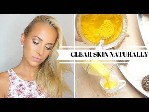 DIY: THE BEST DRINK AGAINST ACNE | Anti inflammatory & Antioxidants