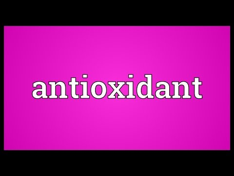 Antioxidant Meaning