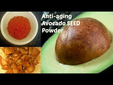 Avocado SEED Powder|| Full of Anti-aging nutrients & Antioxidants||Healthcare||
