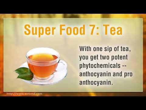 8 Antioxidant Super Foods