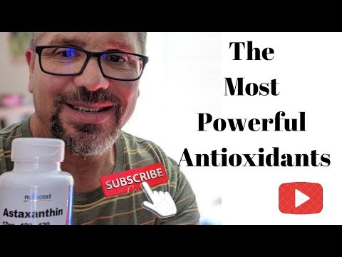 The Most Powerful Antioxidant Supplements