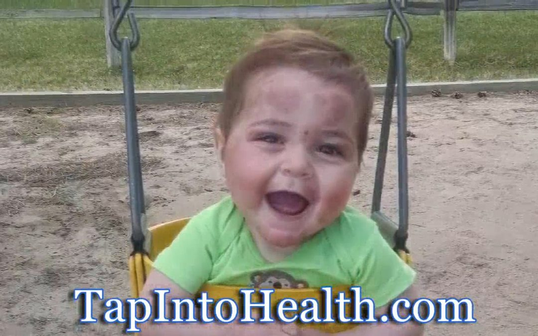 1 yr old beats severe eczema using antioxidant water & taken off steroids