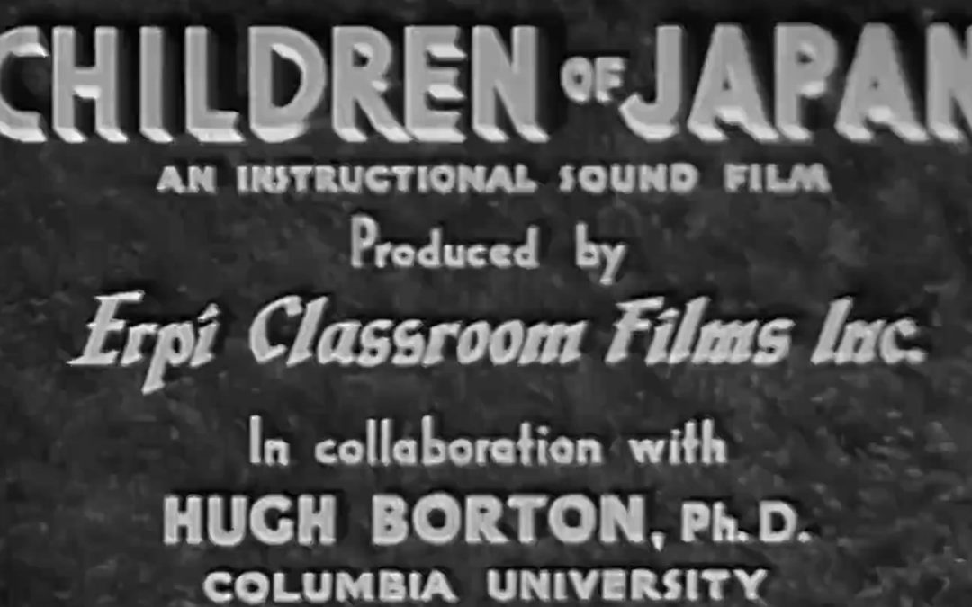 Children of Japan 1940 ERPI Classroom Films – Encyclopaedia Britannica Films