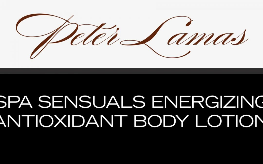 Spa Sensuals Energizing Antioxidant Body Lotion