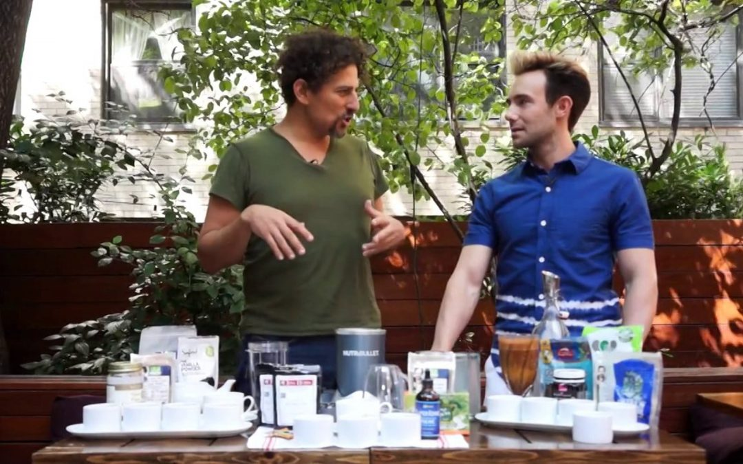 David Wolfe and Inspired Citizen: A Superfood Cooking Demo – Goji Bonanza