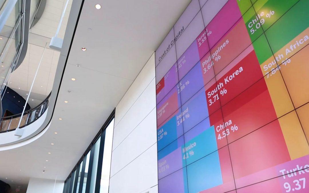 Yale School of Management – Digital Signage and Data Visualization