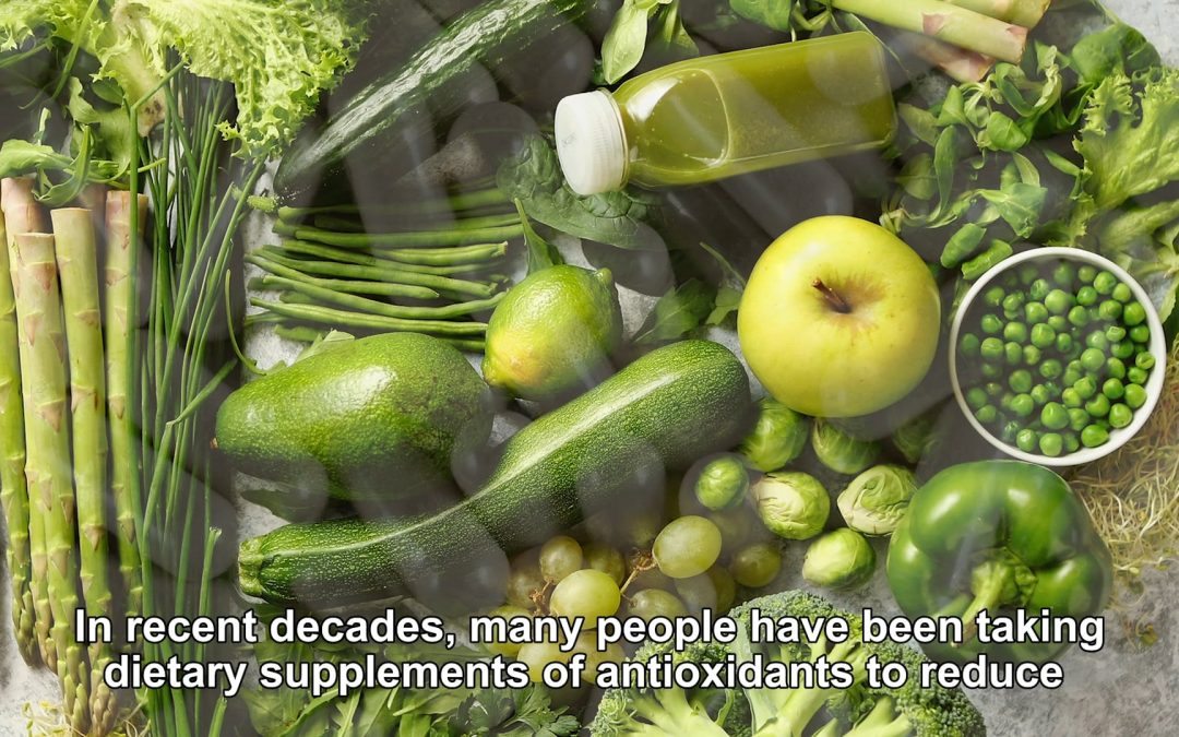 ANTIOXIDANTS CAN BECOME TOO MUCH OF A GOOD THING