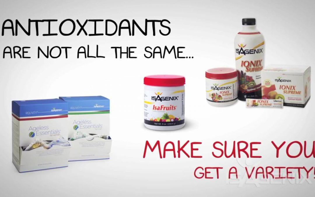 Myth – All Antioxidants are the Same.